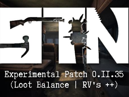 Pre-Alpha Devblog #36 (Experimental Build Patch 0.11.35)