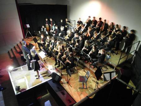 Jazz auf dem Keller mit der CG-Big Band und Jesuit High School New Orleans