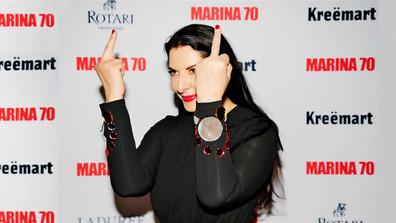 """""""Amigos y enemigos"""" se reúnen en medio del silencio y el oro para el 70 cumpleaños  Marina Abramovic"""