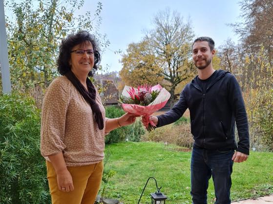 Wir Gratulieren Marlis Gerteis zum Gemeindepräsidium