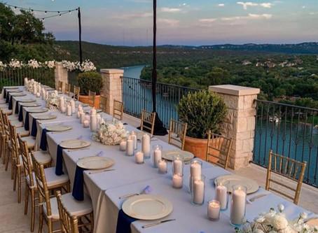 Around Austin-Wedding Table-Lake Austin