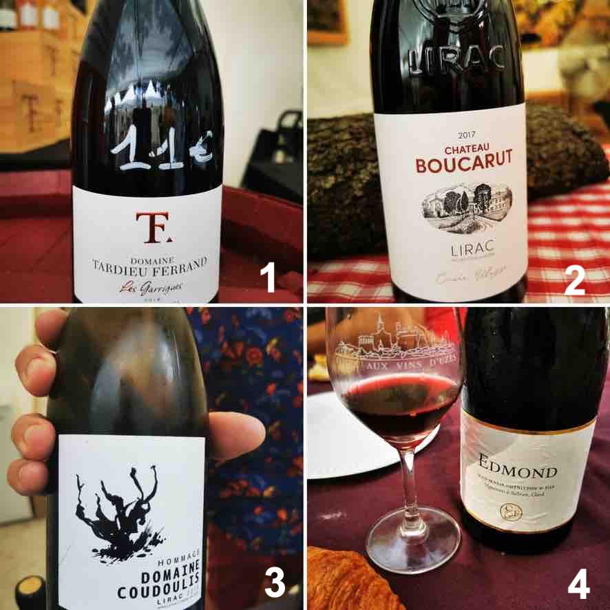 Vins - Selection - Foire - Uzès - Blog - Tardieu Ferrand - Boucarut - Coudoulis - La photo de Famille - Nicolas Bria