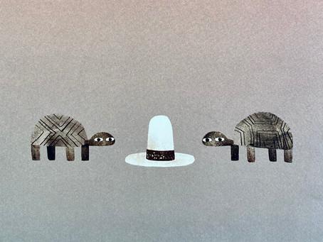 Children's Book Review: We Found A Hat by Jon Klassen