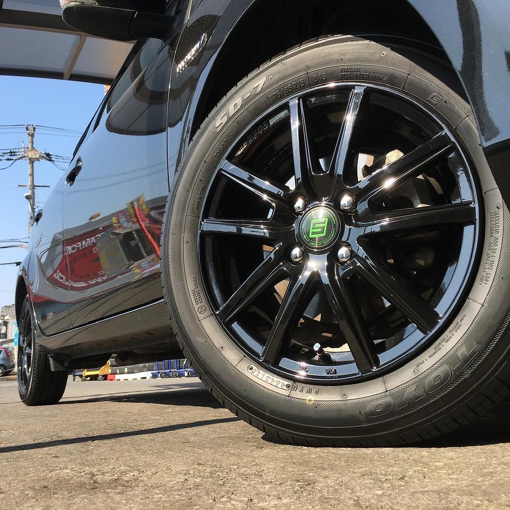 トヨタ アクア 共豊コーポレーション ザインSS 15インチ 5.5J コンパクトカー