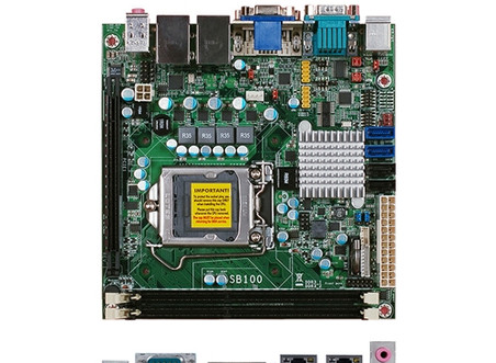 DFI SB100-NRM (1155/DDR3/RGB/DVI/RS232*4)