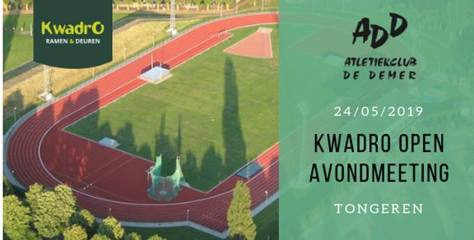 24/05 Kwadro Open Meeting Tongeren