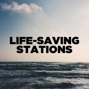 LIFE SAVING STATIONS
