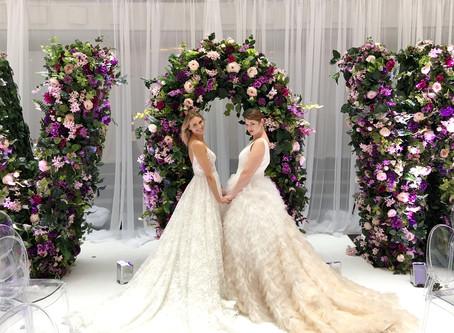 Recap of Bridal Market! Beautiful Gowns & Stunning Models