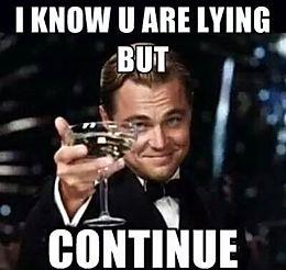 🎶Lies. Lies. Using Lies As Alibis🎶
