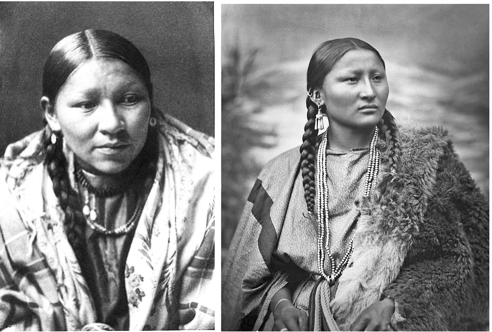 Cheyenne warrior Buffalo Calf Road Woman fought a number of battles in leadership roles, and tribal lore passed down for 143 years credits her with killing George Armstrong Custer. The Arapaho Chief, Pretty Nose.