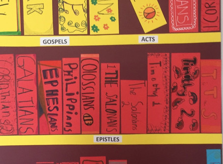 Bookshelves and Timelines by Fifth Class