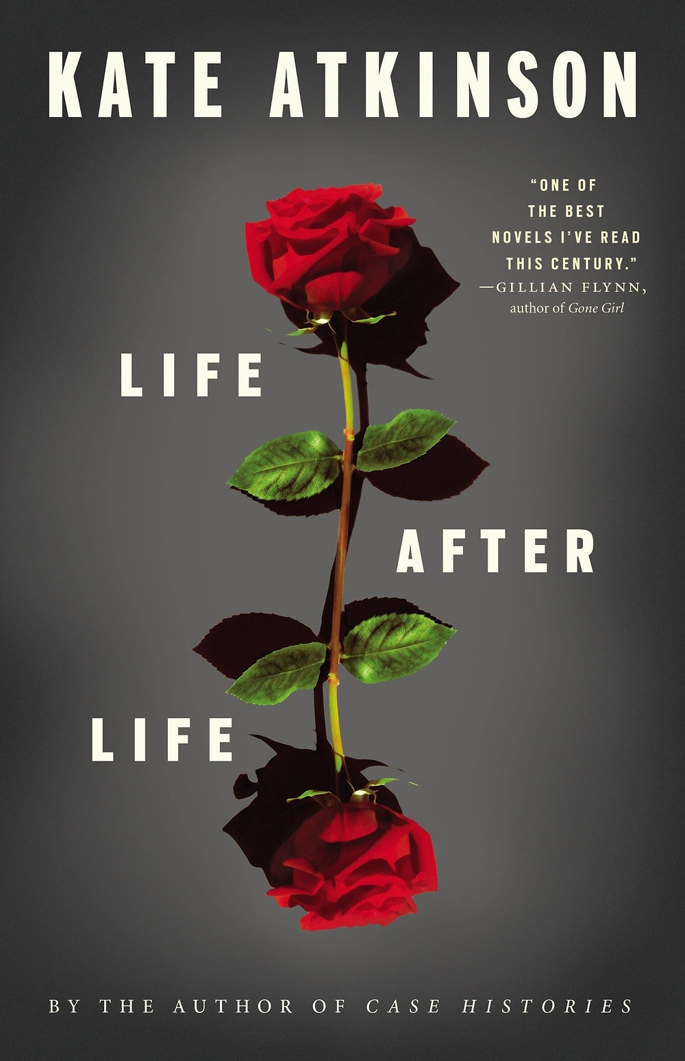 Life After Life by Kate Atkinson : the book slut book reviews thebookslut best floral book covers valentines day books
