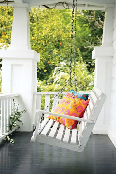 If you are one of those who are troubled with the thoughts at night of how to decorate your balcony, then one of the way-to-go options is to install a swing. You must know swing benches aren't just for elaborate porches.