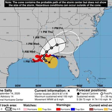 Tropical Storm Sally Update - September 14, 2020