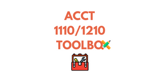 ACCT 1110 & 1210 TOOLBOX (Updated)