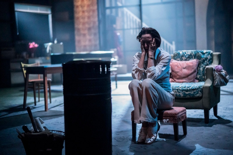Haydn Gwynne in Hedda Tesman, a CFT, Headlong, Lowry co-production  Photo Johan Persson