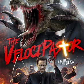 The Velocipastor - Dog Collars and Dinosaurs.