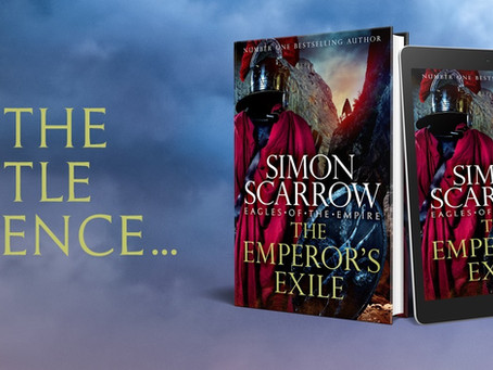 THE EMPEROR'S EXILE - Publication day!!!
