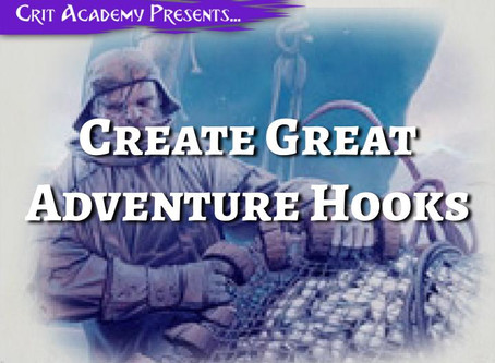 Create Great Adventure Hooks