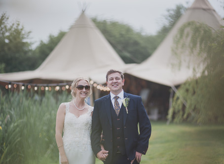 Dan & Lucy at Woodford Farm Weddings