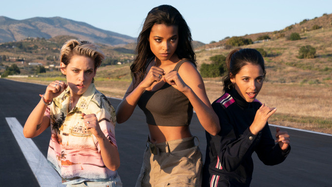 Charlie's Angels promo photo