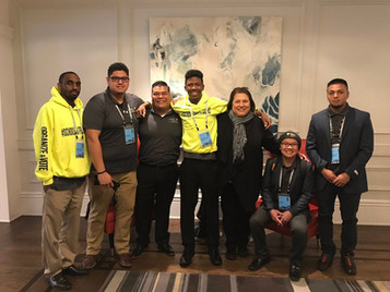 Youth Leaders Travel To Oakland For President Obama's MBK Rising! Conference