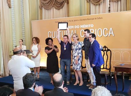 Prêmio: Ponto Cine recebe a Medalha da Primeira Edição da Ordem do Mérito Cultural Carioca