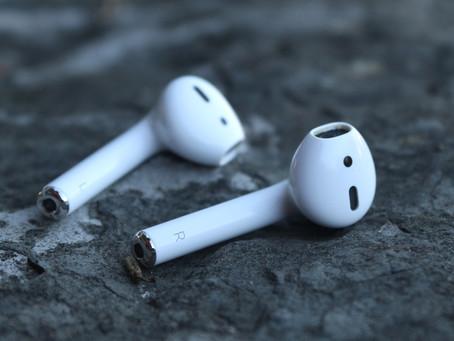 Rumor: AirPods poderão usar condução óssea para melhorar o áudio