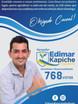 Vereador eleito Edimar Kapiche agradece população de Cacoal