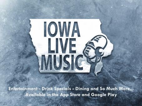 Iowa Live Music App