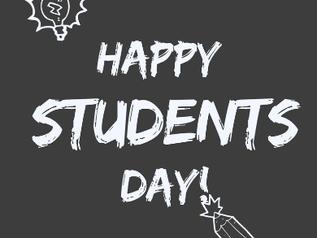 ¡Feliz Día a todos los estudiantes del Martin Luther King College!