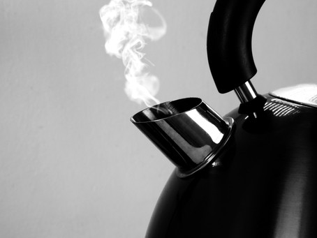 What Tea Kettles Have Taught Me About Anxiety.