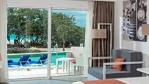 """Chambres """"swim out"""" (accès direct à une piscine de votre chambre) dans les hôtels de Varadero"""