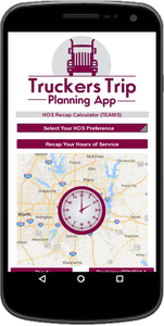 Team Drivers Hours of Service Recap Calculator