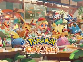 Puzzles, sweets, and more in the new Pokémon Café Mix