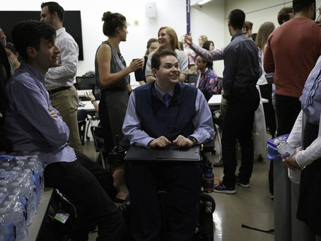 Chris Connolly is a brilliant quadriplegic medical student changing the way doctors are viewed