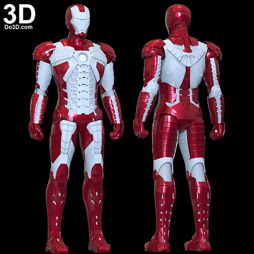 Iron Man Mark V SuitCase Armor  MK 5 | 3D Model Project #1829