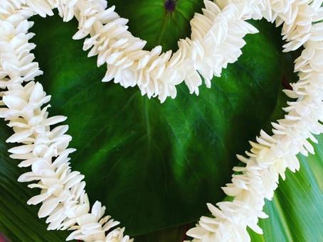 Ua ola loko i ke aloha (=Love gives life within)