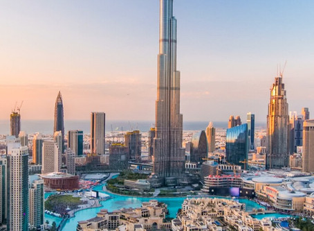 Honeymooning in Dubai