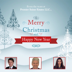 Happy Holidays from Premier Suisse Team!