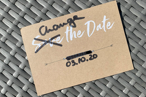 Change the Date statt Save the Date