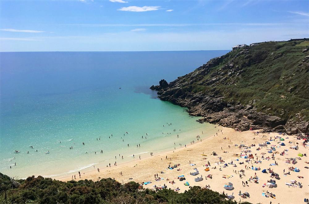 Portcurnow Beach, Cornwall, England