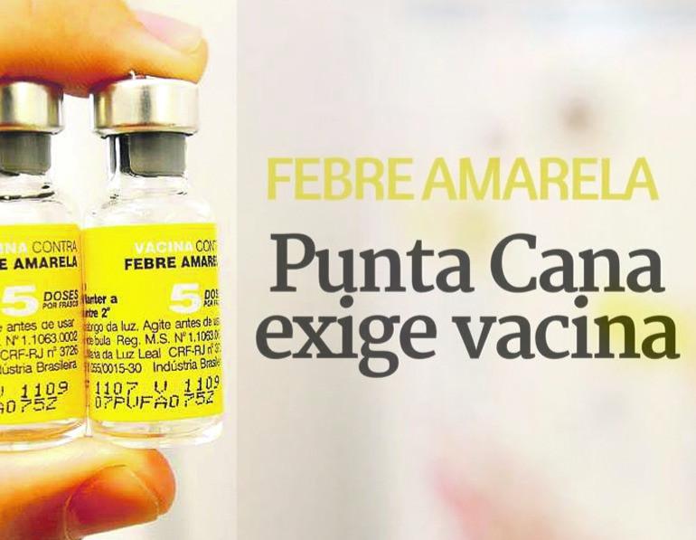 Vacina Febre Amarela Punta Cana