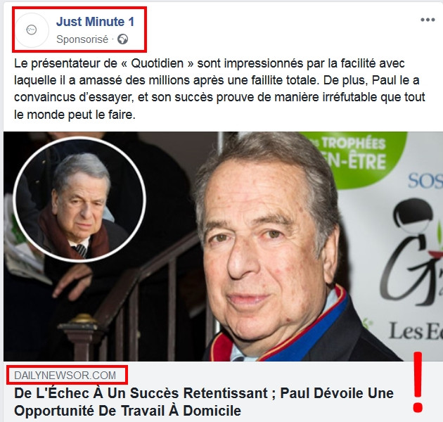 Just Minute 1 sur Facebook