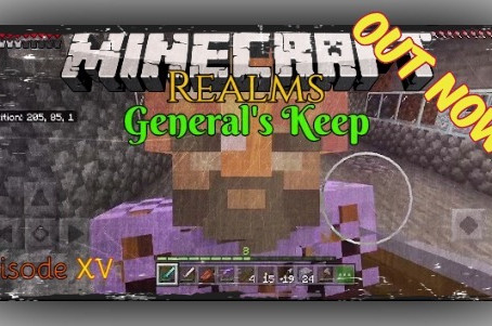 "OUT NOW!!! ""General's Keep"" (Episode XV) - A Minecraft Realms Adventure [Bedrock]"