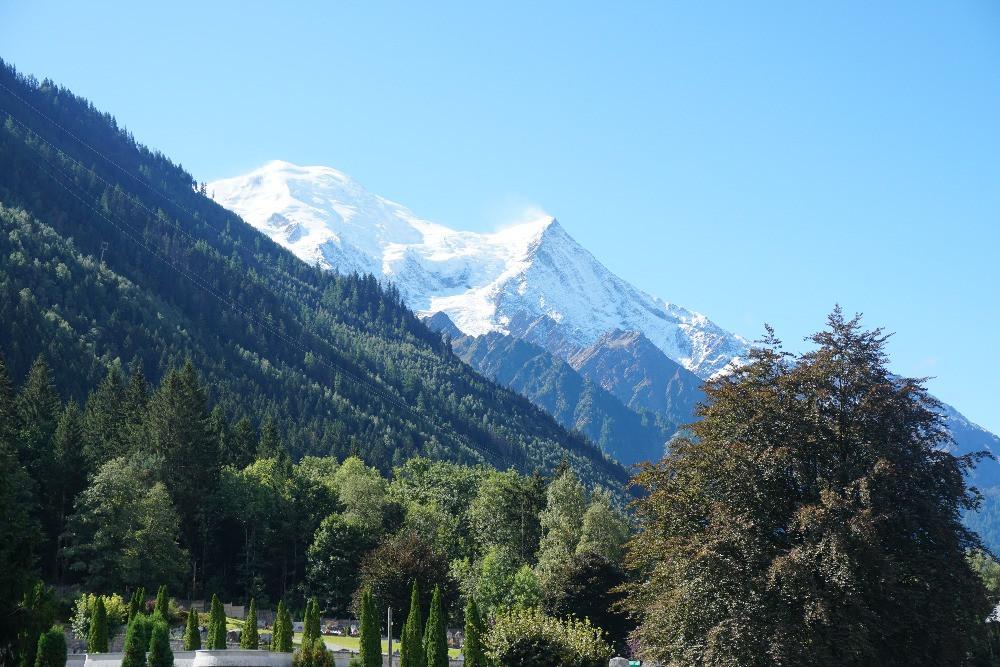 מסלול טיול באלפים הצרפתיים