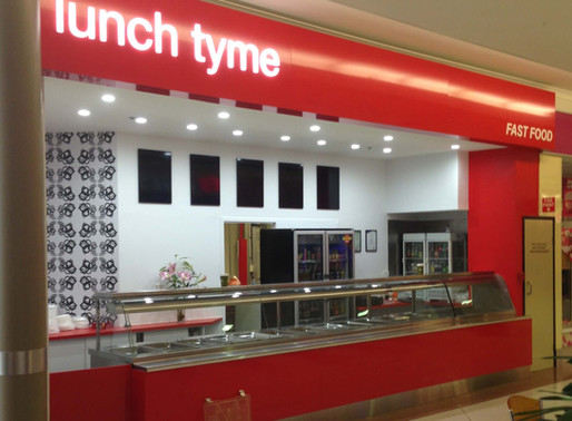 Lunch Tyme Retail Food Outlet Shop Fit Out – Cannon Hill, Brisbane