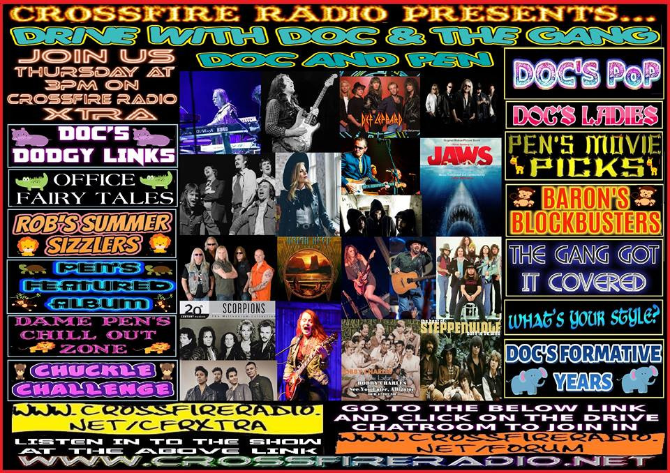 Drive Promo Collage, Crossfire Radio