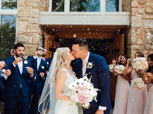Alexa and Brady's Summer wedding at Seven Springs.