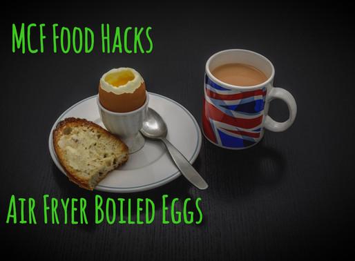 Food Hack #1: Air Fryer Boiled Eggs
